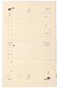 Gabbeh Loom Frame - Off White Szőnyeg 100X160 Modern Bézs/Világos Rózsaszín (Gyapjú, India)