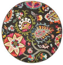 Allegra - Sötét Szőnyeg Ø 150 Modern Kerek Sötétszürke ( Törökország)