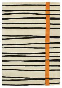 Gummi Twist Handtufted - Narancssárga Szőnyeg 160X230 Modern Sötét Bézs/Bézs/Fekete (Gyapjú, India)