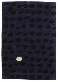Camouflage Handtufted - Sötét Szőnyeg 160X230 Modern Sötétlila (Gyapjú, India)