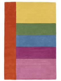 Colors By Meja Handtufted Szőnyeg 120X180 Modern Világos Rózsaszín/Sárga (Gyapjú, India)