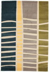 Abstract Bamboo Szőnyeg 160X230 Modern Sötétkék/Bézs ( Törökország)