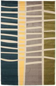 Abstract Bamboo Szőnyeg 200X300 Modern Bézs/Kék/Világosszürke ( Törökország)