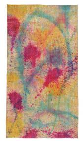 Colored Vintage Szőnyeg 144X265 Modern Csomózású Sötét Bézs/Világosszürke (Gyapjú, Törökország)