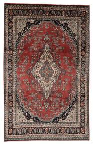 Hamadán Shahrbaf Patina Szőnyeg 208X328 Keleti Csomózású Világosbarna/Piros (Gyapjú, Perzsia/Irán)