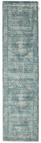 Jacinda - Világos Szőnyeg 80X300 Modern Világosszürke/Türkiz Kék/Sötétszürke ( Törökország)