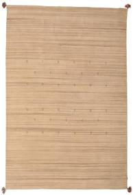 Loribaf Loom Szőnyeg 193X292 Modern Csomózású Sötét Bézs/Bézs (Gyapjú, India)