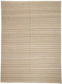 Kilim Modern Szőnyeg 246X341 Modern Kézi Szövésű Világosszürke/Bézs (Gyapjú, Afganisztán)