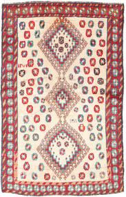 Qashqai Szőnyeg 120X188 Keleti Csomózású Bézs/Világosszürke (Gyapjú, Perzsia/Irán)