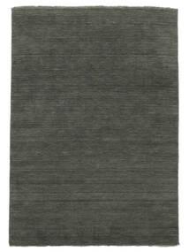 Handloom Fringes - Sötétszürke Szőnyeg 200X300 Modern Sötétszürke (Gyapjú, India)