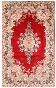 Kerman Szőnyeg 377X620 Keleti Csomózású Rozsdaszín/Bézs Nagy (Gyapjú, Perzsia/Irán)