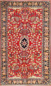 Najafabad Patina Figurák/Képek Szőnyeg 188X320 Keleti Csomózású Rozsdaszín/Sötétpiros (Gyapjú, Perzsia/Irán)