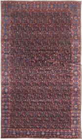 Senneh Szőnyeg 368X639 Keleti Csomózású Sötétbarna/Bíbor Nagy (Gyapjú, Perzsia/Irán)