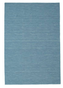 Kilim Loom - Kék Szőnyeg 200X300 Modern Kézi Szövésű Türkiz Kék/Világoskék (Gyapjú, India)