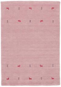 Gabbeh Loom Two Lines - Rózsaszín Szőnyeg 140X200 Modern Világos Rózsaszín (Gyapjú, India)