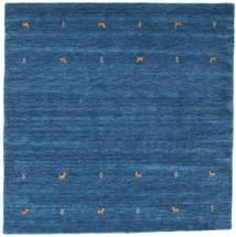 Gabbeh Loom Two Lines - Kék Szőnyeg 200X200 Modern Szögletes Sötétkék/Kék (Gyapjú, India)