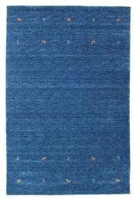 Gabbeh Loom Two Lines - Kék Szőnyeg 190X290 Modern Sötétkék/Kék (Gyapjú, India)