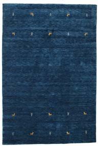 Gabbeh Loom Two Lines - Sötétkék Szőnyeg 160X230 Modern Sötétkék (Gyapjú, India)