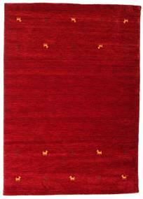 Gabbeh Loom Two Lines - Piros Szőnyeg 160X230 Modern Piros/Sötétpiros (Gyapjú, India)