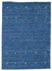 Gabbeh Loom Two Lines - Kék Szőnyeg 140X200 Modern Sötétkék/Kék (Gyapjú, India)