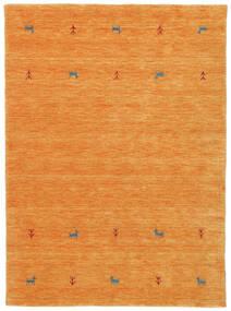Gabbeh Loom Two Lines - Narancssárga Szőnyeg 140X200 Modern Narancssárga (Gyapjú, India)