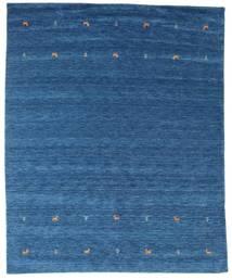 Gabbeh Loom Two Lines - Kék Szőnyeg 240X290 Modern Sötétkék/Kék (Gyapjú, India)