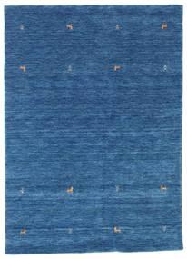 Gabbeh Loom Two Lines - Kék Szőnyeg 160X230 Modern Sötétkék/Kék (Gyapjú, India)