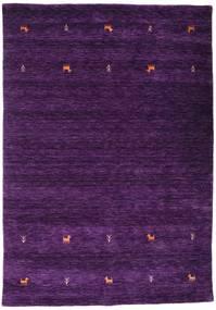 Gabbeh Loom Two Lines - Bíbor Szőnyeg 160X230 Modern Sötétlila (Gyapjú, India)