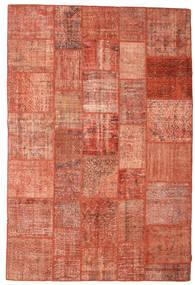 Patchwork Szőnyeg 202X301 Modern Csomózású Piros/Világos Rózsaszín (Gyapjú, Törökország)
