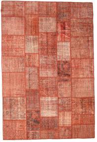Patchwork Szőnyeg 202X300 Modern Csomózású Piros/Világos Rózsaszín/Sötétpiros (Gyapjú, Törökország)