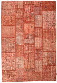 Patchwork Szőnyeg 202X298 Modern Csomózású Piros/Világos Rózsaszín (Gyapjú, Törökország)
