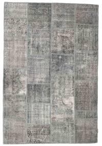 Patchwork Szőnyeg 157X234 Modern Csomózású Világosszürke/Sötétszürke (Gyapjú, Törökország)