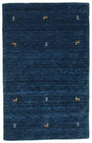 Gabbeh Loom Two Lines - Sötétkék Szőnyeg 100X160 Modern Sötétkék (Gyapjú, India)