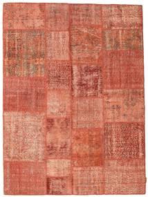 Patchwork Szőnyeg 171X233 Modern Csomózású Piros/Világos Rózsaszín (Gyapjú, Törökország)