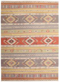 Kilim Nimrud Szőnyeg 240X340 Modern Kézi Szövésű Világosszürke/Sötét Bézs (Gyapjú, India)