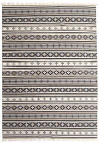 Kilim Cizre Szőnyeg 240X340 Modern Kézi Szövésű Világosszürke/Bézs (Gyapjú, India)