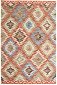 Kilim Usak Szőnyeg 180X275 Modern Kézi Szövésű Bézs/Világosbarna (Gyapjú, India)
