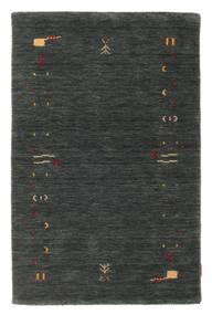 Gabbeh Loom Frame - Sötétszürke/Zöld Szőnyeg 100X160 Modern Sötétzöld (Gyapjú, India)