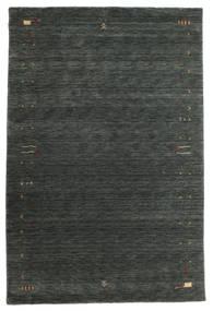 Gabbeh Loom Frame - Sötétszürke/Zöld Szőnyeg 190X290 Modern Sötétzöld (Gyapjú, India)