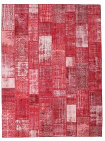 Patchwork Szőnyeg 303X402 Modern Csomózású Piros/Rozsdaszín/Rózsaszín Nagy (Gyapjú, Törökország)