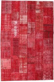 Patchwork Szőnyeg 201X298 Modern Csomózású Piros/Rozsdaszín (Gyapjú, Törökország)