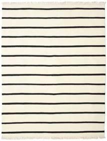 Dorri Stripe - White/Fekete Szőnyeg 200X250 Modern Kézi Szövésű Bézs/Bézs/Krém (Gyapjú, India)