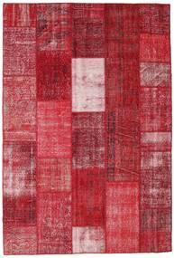Patchwork Szőnyeg 202X298 Modern Csomózású Piros/Sötétpiros (Gyapjú, Törökország)