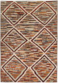 Barchi/Moroccan Berber Szőnyeg 194X285 Modern Csomózású Sötétbarna/Világosbarna (Gyapjú, Afganisztán)