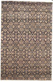 Damask Szőnyeg 170X263 Modern Csomózású Világosszürke/Világosbarna ( India)