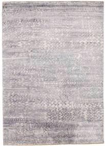 Damask Szőnyeg 175X246 Modern Csomózású Világosszürke/Bézs ( India)