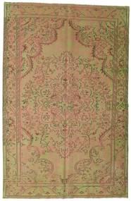 Colored Vintage Szőnyeg 183X284 Modern Csomózású Világosbarna/Világoszöld (Gyapjú, Törökország)