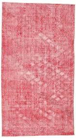 Colored Vintage Szőnyeg 152X278 Modern Csomózású Rózsaszín/Világos Rózsaszín (Gyapjú, Törökország)