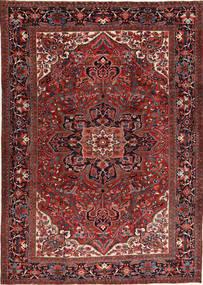 Heriz Szőnyeg 266X372 Keleti Csomózású Sötétpiros/Fekete Nagy (Gyapjú, Perzsia/Irán)