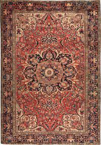Heriz Szőnyeg 256X366 Keleti Csomózású Sötétbarna/Sötétpiros Nagy (Gyapjú, Perzsia/Irán)